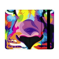Colorful Lion Samsung Galaxy Tab Pro 8 4  Flip Case by Brittlevirginclothing