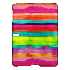 Colorful Wet Paper Samsung Galaxy Tab S (10 5 ) Hardshell Case  by Brittlevirginclothing