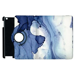 Paint In Water Apple Ipad 3/4 Flip 360 Case by Brittlevirginclothing