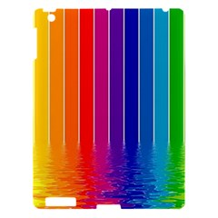 Faded Rainbow Apple Ipad 3/4 Hardshell Case by Brittlevirginclothing