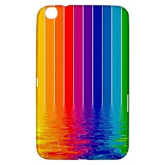 Faded Rainbow Samsung Galaxy Tab 3 (8 ) T3100 Hardshell Case  by Brittlevirginclothing