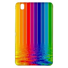 Faded Rainbow Samsung Galaxy Tab Pro 8 4 Hardshell Case by Brittlevirginclothing