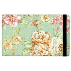 Vintage Pastel Flowers Apple Ipad 3/4 Flip Case by Brittlevirginclothing