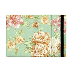 Vintage Pastel Flowers Apple Ipad Mini Flip Case by Brittlevirginclothing