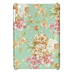 Vintage Pastel Flowers Apple Ipad Mini Hardshell Case by Brittlevirginclothing