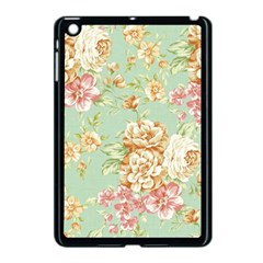 Vintage Pastel Flowers Apple Ipad Mini Case (black) by Brittlevirginclothing