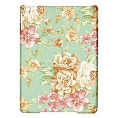 Vintage Pastel Flowers Ipad Air Hardshell Cases by Brittlevirginclothing