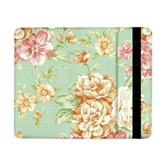 Vintage Pastel Flowers Samsung Galaxy Tab Pro 8 4  Flip Case by Brittlevirginclothing