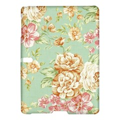 Vintage Pastel Flowers Samsung Galaxy Tab S (10 5 ) Hardshell Case  by Brittlevirginclothing
