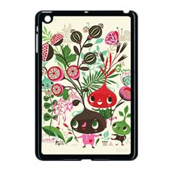 Cute Cartoon Apple Ipad Mini Case (black) by Brittlevirginclothing