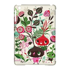 Cute Cartoon Apple Ipad Mini Hardshell Case (compatible With Smart Cover) by Brittlevirginclothing