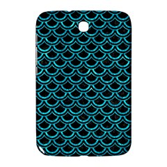 Scales2 Black Marble & Turquoise Marble Samsung Galaxy Note 8 0 N5100 Hardshell Case  by trendistuff