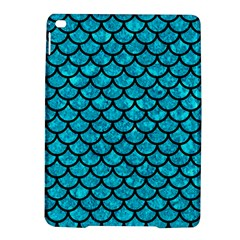 Scales1 Black Marble & Turquoise Marble (r) Apple Ipad Air 2 Hardshell Case by trendistuff