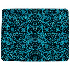Damask2 Black Marble & Turquoise Marble (r) Jigsaw Puzzle Photo Stand (rectangular) by trendistuff