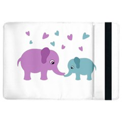 Elephant Love Ipad Air 2 Flip by Valentinaart