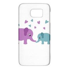 Elephant Love Galaxy S6 by Valentinaart