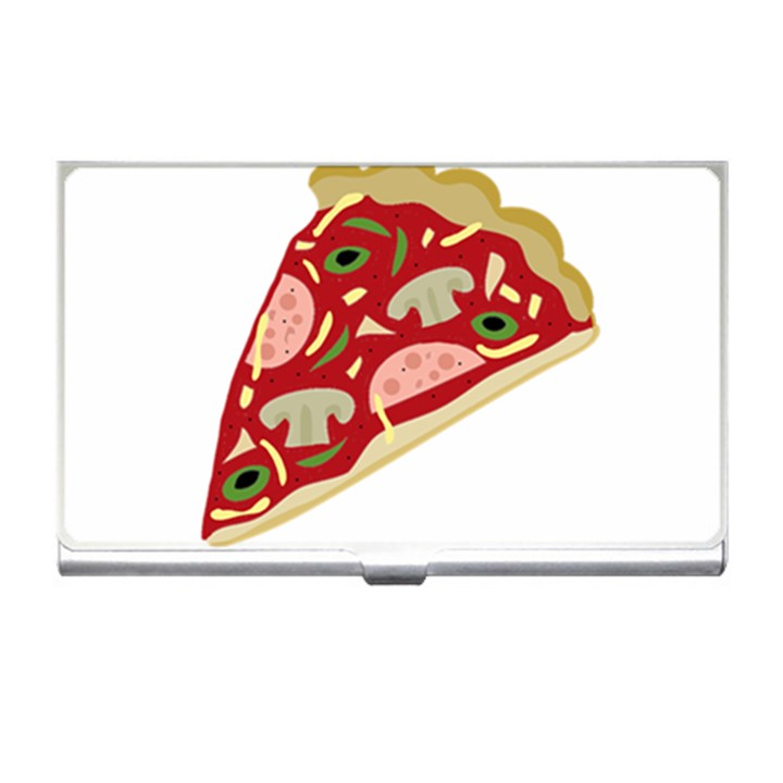 Pizza slice Business Card Holders