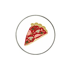 Pizza Slice Hat Clip Ball Marker (10 Pack) by Valentinaart