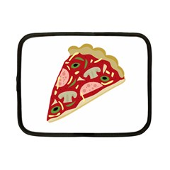 Pizza Slice Netbook Case (small)  by Valentinaart