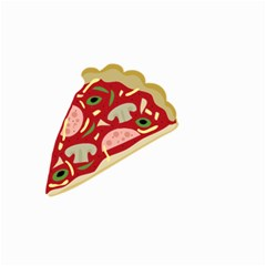 Pizza Slice Small Garden Flag (two Sides)