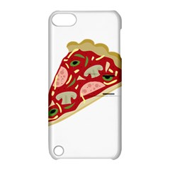 Pizza Slice Apple Ipod Touch 5 Hardshell Case With Stand by Valentinaart