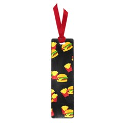 Hamburgers And French Fries Pattern Small Book Marks by Valentinaart