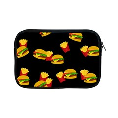 Hamburgers And French Fries Pattern Apple Ipad Mini Zipper Cases by Valentinaart