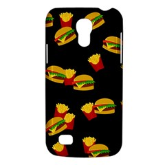 Hamburgers And French Fries Pattern Galaxy S4 Mini by Valentinaart
