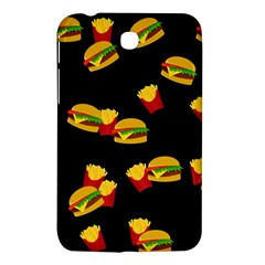 Hamburgers And French Fries Pattern Samsung Galaxy Tab 3 (7 ) P3200 Hardshell Case  by Valentinaart