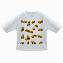Hamburgers And French Fries  Infant/toddler T Shirts by Valentinaart