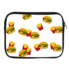 Hamburgers And French Fries  Apple Ipad 2/3/4 Zipper Cases by Valentinaart