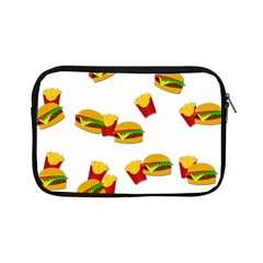 Hamburgers And French Fries  Apple Ipad Mini Zipper Cases by Valentinaart