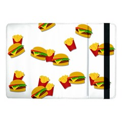 Hamburgers And French Fries  Samsung Galaxy Tab Pro 10 1  Flip Case by Valentinaart