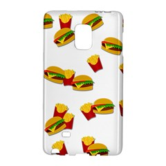 Hamburgers And French Fries  Galaxy Note Edge by Valentinaart