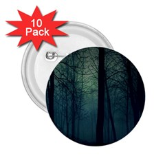 Dark Forest 2 25  Buttons (10 Pack)  by Brittlevirginclothing