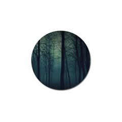 Dark Forest Golf Ball Marker (4 Pack) by Brittlevirginclothing