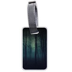 Dark Forest Luggage Tags (two Sides) by Brittlevirginclothing