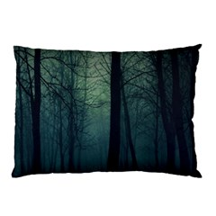 Dark Forest Pillow Case (two Sides) by Brittlevirginclothing