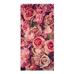 Beautiful Pink Roses Shower Curtain 36  X 72  (stall)  by Brittlevirginclothing