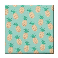 Pineapple Tile Coasters by Brittlevirginclothing