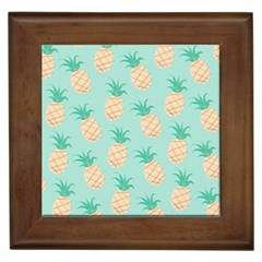Pineapple Framed Tiles by Brittlevirginclothing