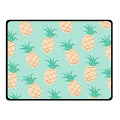 Pineapple Fleece Blanket (small) by Brittlevirginclothing