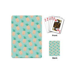 Pineapple Playing Cards (mini)  by Brittlevirginclothing