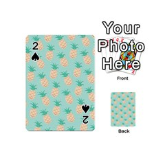 Pineapple Playing Cards 54 (mini)  by Brittlevirginclothing