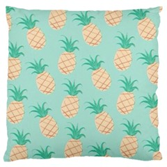 Pineapple Large Cushion Case (one Side) by Brittlevirginclothing