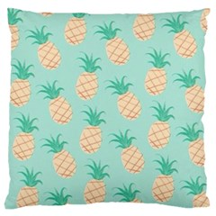 Pineapple Standard Flano Cushion Case (one Side) by Brittlevirginclothing