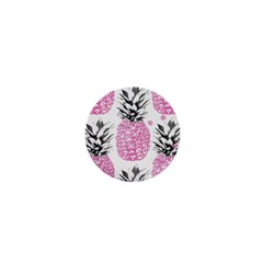 Pink Pineapple 1  Mini Magnets by Brittlevirginclothing