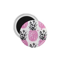 Pink Pineapple 1 75  Magnets by Brittlevirginclothing