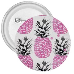 Pink Pineapple 3  Buttons by Brittlevirginclothing