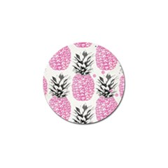 Pink Pineapple Golf Ball Marker (10 Pack) by Brittlevirginclothing
